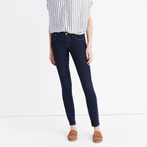 Madewell || skinny skinny Quincy wash jeans